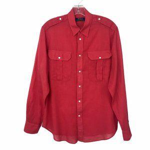 Polo Ralph Lauren Button Front Shirt #83